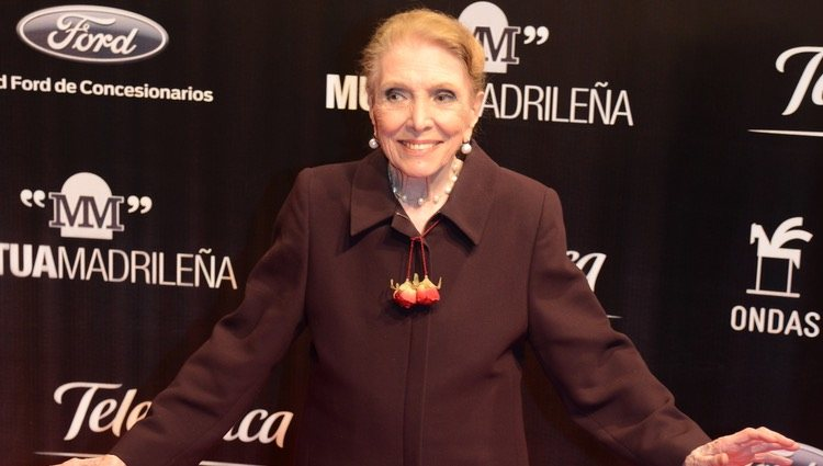 María Dolores Pradera en la entrega de los Premios Ondas 2013