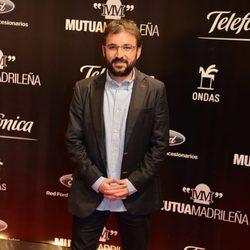 Jordi Évole en la entrega de los Premios Ondas 2013