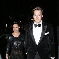 Pippa Middleton y Nico Jackson en la gala Sugarplum Ball
