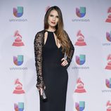 India Martínez en los Grammy Latinos 2013