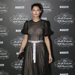 Bianca Balti en la presentación del Calendario Pirelli 2014