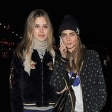 Georgia May Jagger y Cara Delevingne en 'Winter Wonderland'
