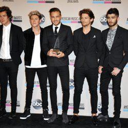 One Direction en los American Music Awards 2013