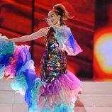 Jennifer Lopez homenajeando a Celia Cruz en los American Music Awards 2013