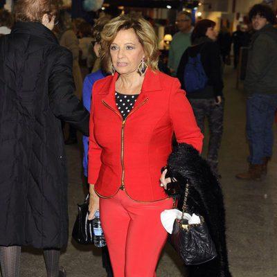 María Teresa Campos en el Rastrillo Nuevo Futuro 2013