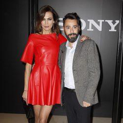 Juanjo Oliva y Nieves Álvarez en la presentación el Fashion Film 'XX'