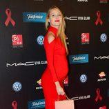 Vanesa Lorenzo luce embarazo en la gala contra el Sida 2013
