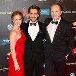 Genoveva Casanova, Marc Clotet y Miguel Bosé en la gala contra el Sida 2013