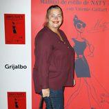 Caritina Goyanes en la presentación del libro '100% Naty'