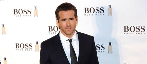 Ryan Reynolds en el 15 aniversario de la fragancia 'Boss Bottle' en Madrid