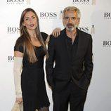 Imanol Arias e Irene Meritxell en el 15 aniversario de la fragancia 'Boss Bottle' en Madrid