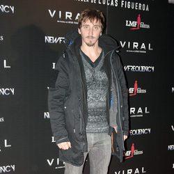 Iván Massagué en el estreno de 'Viral'