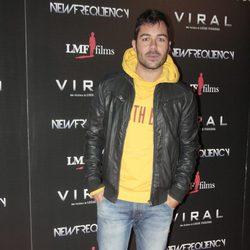David Seijo en el estreno de 'Viral'