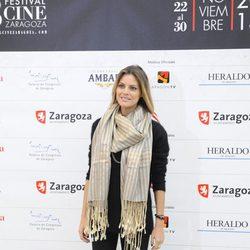 Amaia Salamanca luce embarazo en el Festival de Cine de Zaragoza