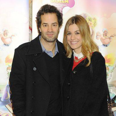 Alexandra Jiménez y Luis Rallo en el estreno del musical 'Gisela y el cuento mágico'