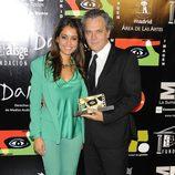 Hiba Abouk y José Coronado en los Premios MadridImagen 2013