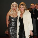 Rita Ora y Kate Moss en los British Fashion Awards 2013