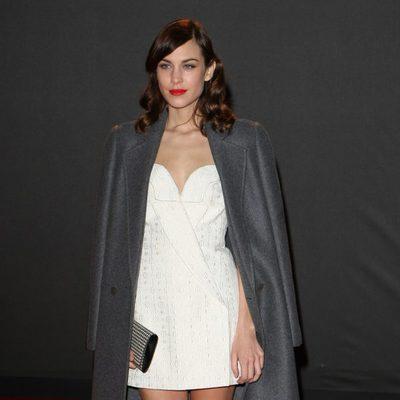 Alexa Chung en los British Fashion Awards 2013