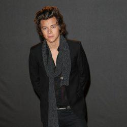 Harry Styles en los British Fashion Awards 2013