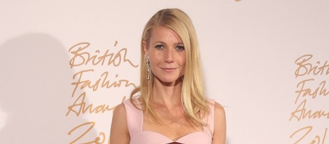 Gwyneth Paltrow en los British Fashion Awards 2013