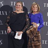 Caritina Goyanes y Cari Lapique en los Premios Telva 2013