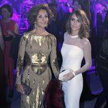 Naty Abascal y Laura Vecino en los Premios Telva 2013