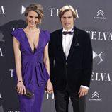 Astrid Klisans y Carlos Baute en los Premios Telva 2013