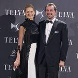 Nicolás y Tatiana de Grecia en los Premios Telva 2013