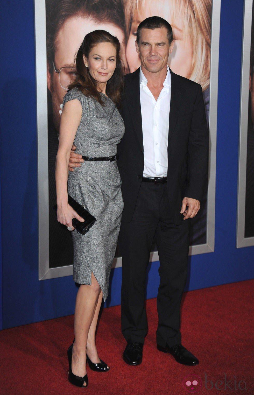 Los actores Diane Lane y Josh Brolin