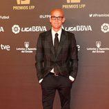 Ramón Fuentes en los Premios de la Liga Profesional de Fútbol 2013