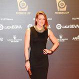 Mireia Belmonte en los Premios de la Liga Profesional de Fútbol 2013