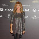 Miriam Díaz Aroca en los Premios de la Liga de Fútbol Profesional 2013