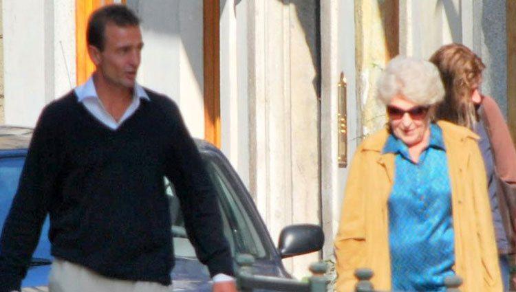 Alessandro Lequio y Sandra Torlonia