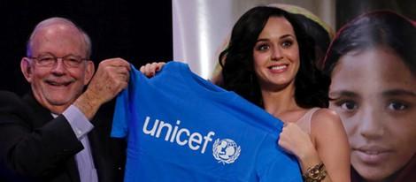 Katy Perry, nueva embajadora de Buena Voluntad de Unicef