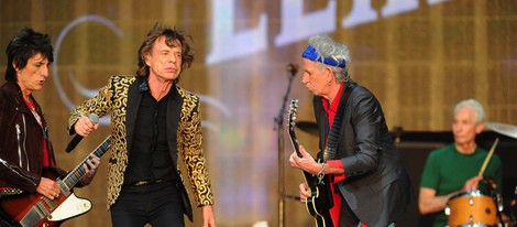 The Rollings Stones en un concierto