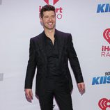 Robin Thicke en el Jingle Ball 2013