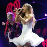 Ariana Grande en el Jingle Ball 2013