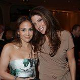 Jennifer Lopez y Linda Lopez en la fiesta 'Celebration of Babies' en honor a Jennifer Lopez