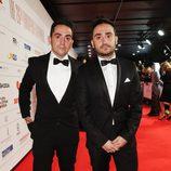 Carlos y Juan Antonio Bayona en los Premios del Cine Europeo 2013