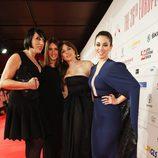 Rossy de Palma, Paz Vega, Leonor Watling y Blanca Suárez en los Premios del Cine Europeo 2013