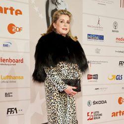 Catherine Deneuve en los Premios del Cine Europeo 2013
