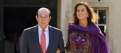 Curro Romero celebra su 80 cumpleaños con Carmen Tello