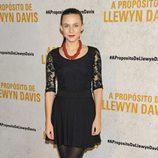Aura Garrido en el estreno de 'A propósito de Llewyn Davis'