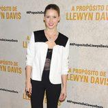 Manuela Vellés en el estreno de 'A propósito de Llewyn Davis'