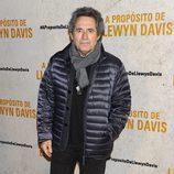 Miguel Ríos en el estreno de 'A propósito de Llewyn Davis'