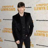 Adrián Lastra en el estreno de 'A propósito de Llewyn Davis'