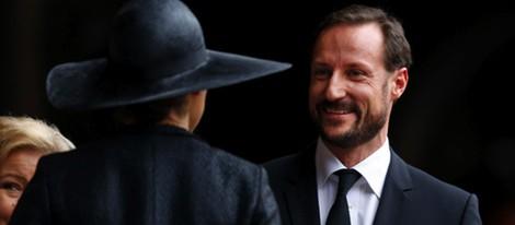 Victoria de Suecia y Haakon de Noruega en el funeral de Nelson Mandela