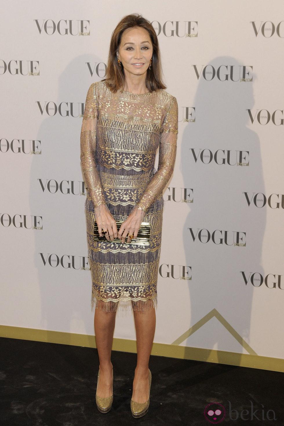 Isabel Preysler en los Premios Vogue Joyas 2013