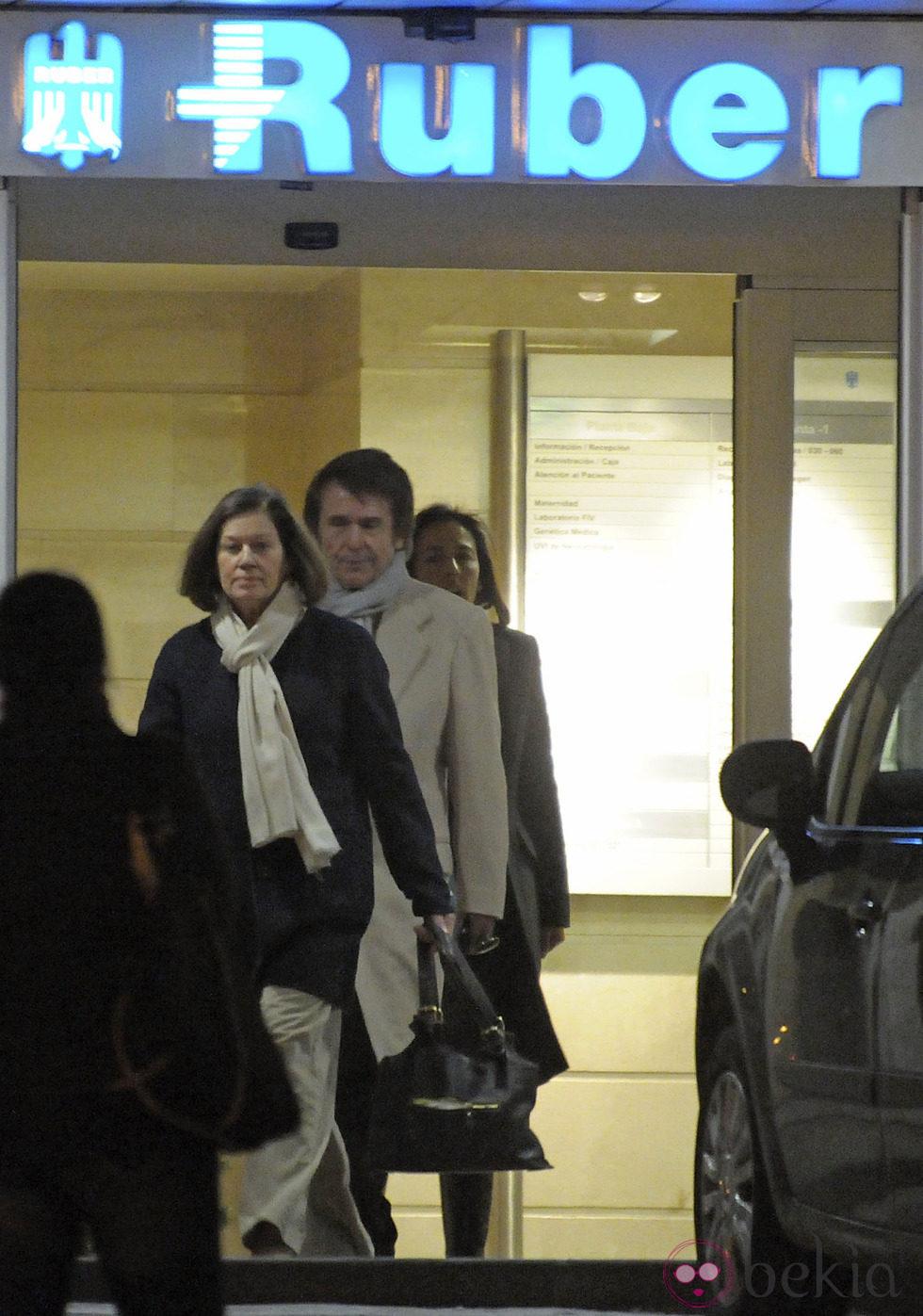 Raphael y Natalia Figueroa van a conocer al tercer hijo de Amelia Bono y Manuel Martos