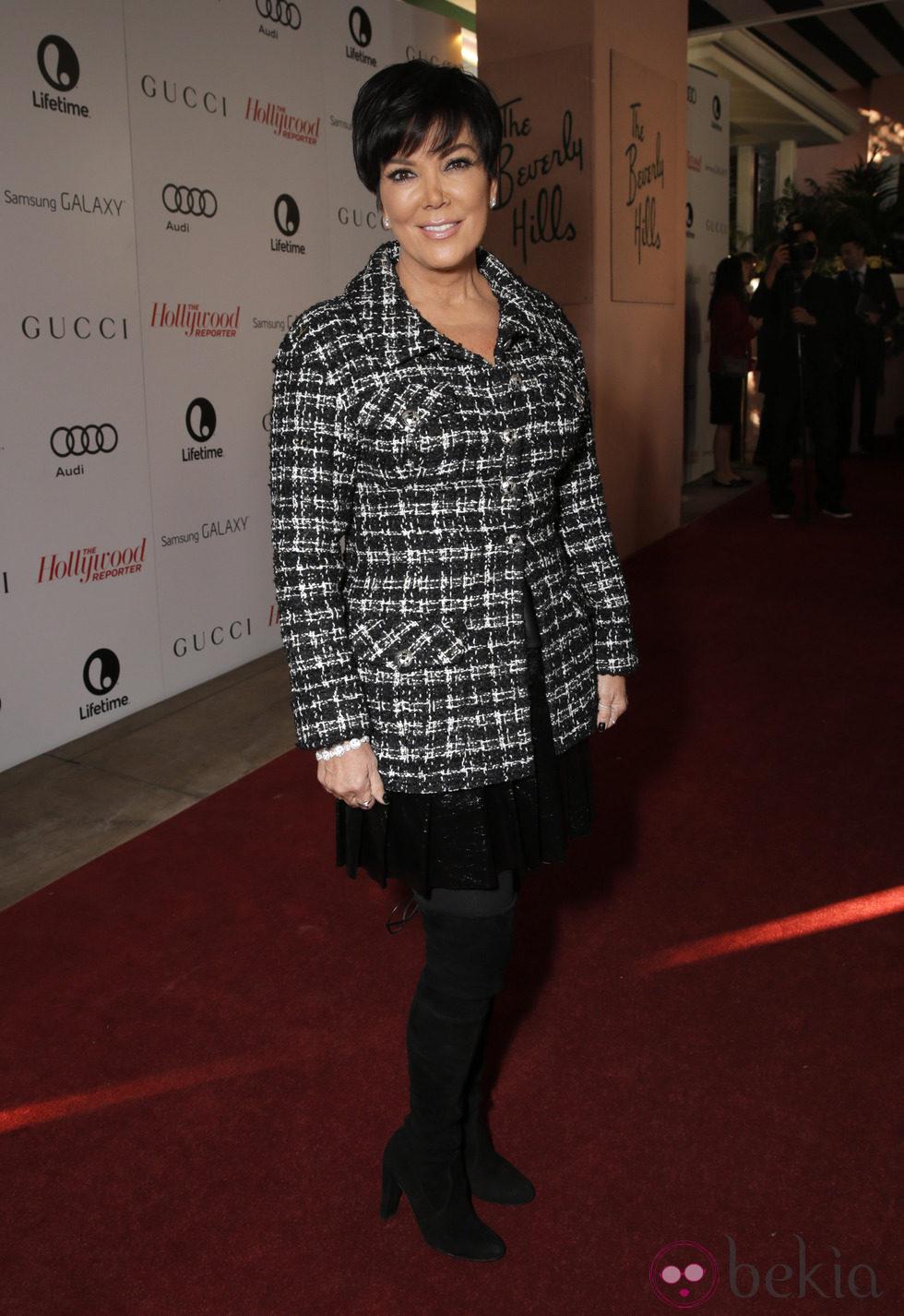 Kris Jenner en The Hollywood Reporter's Annual Power 100 Women 2013
